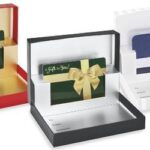 What is the concept behind gift card boxes